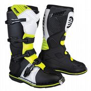 Shot X10 2.0 MX Boots Black/White/Yellow